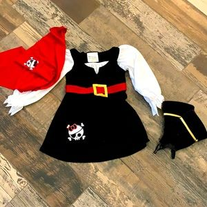California Costumes Lil' Girls Pirate Costume 🏴☠️ 🖤